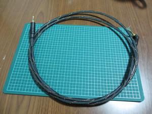 SONY MDR-1RMK2用自作ケーブル