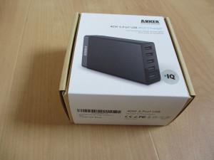 ANKER 40W 5Port USB充電器外装