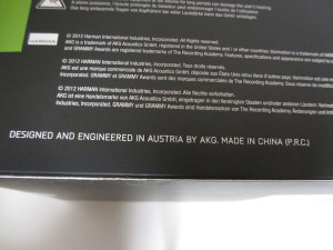 Q701 中国製の表示