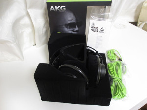 AKG Q701 開封後のパッケージ内容