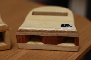 木製iPhone Speaker 浅型