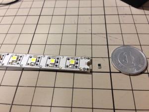 基板と3528 LEDチップ、3216サイズチップ抵抗