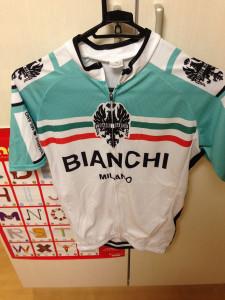 Bianchi サイクルジャージ 上 半袖