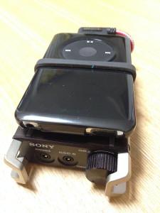 iPod Classic + PHA-1 + VentureCraft USB Dockケーブル