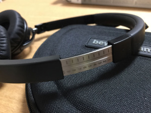 DTX 501Pのアームバンド内部はメタル製