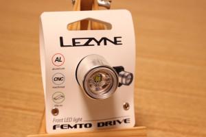 LEZYNE FEMTO DRIVE LEDヘッドライト