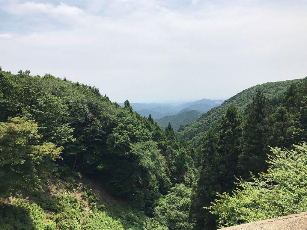 正丸峠からの眺め