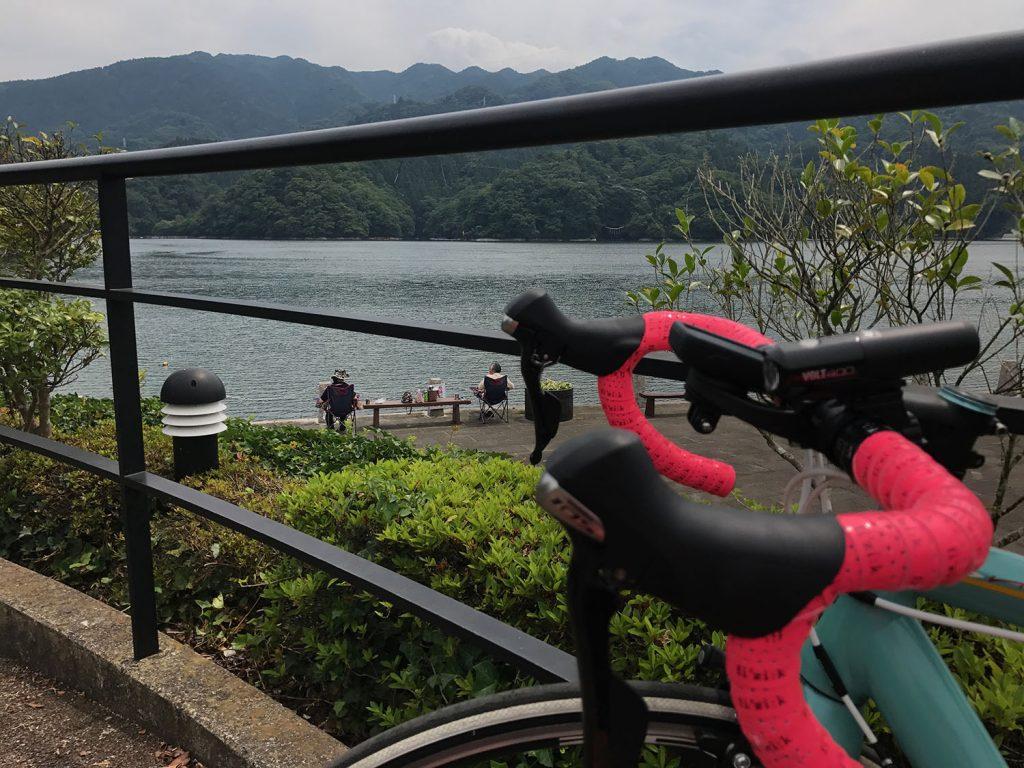 相模湖公園で昼食&大休憩