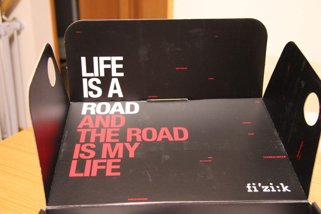 """LIFE IS A ROAD AND THE ROAD IS MY LIFE""のメッセージ"