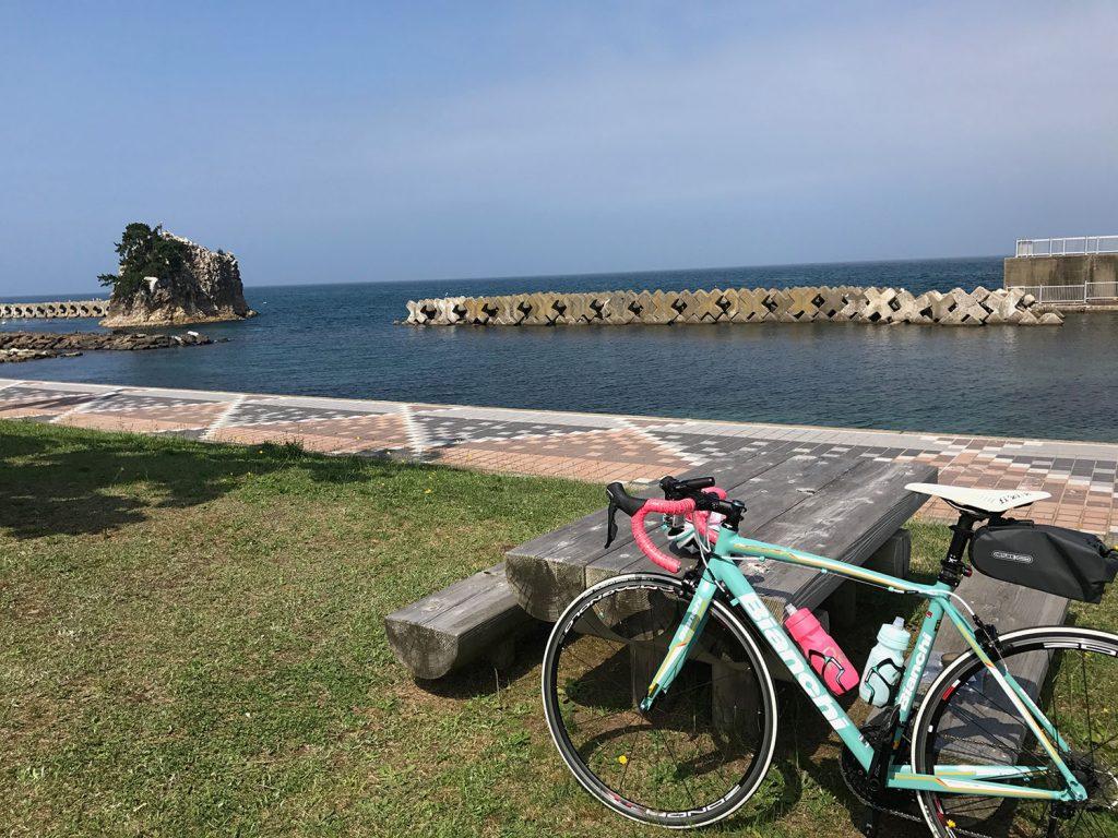 義経海浜公園で休憩